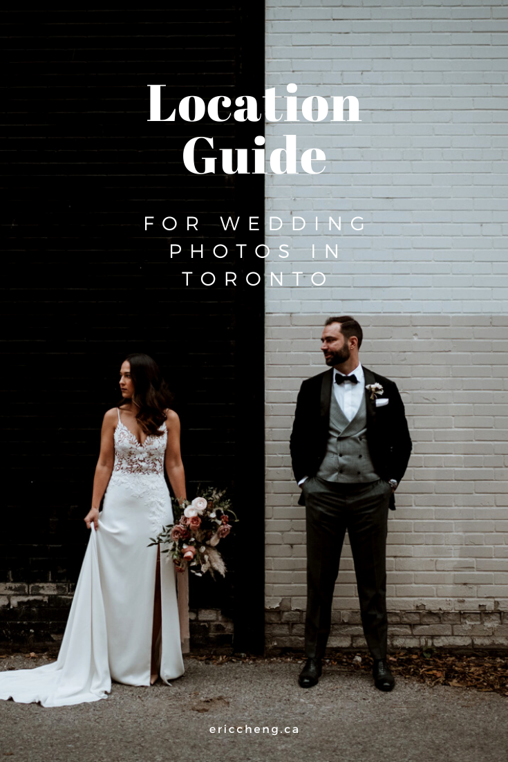 Location guide for wedding photo in toronto