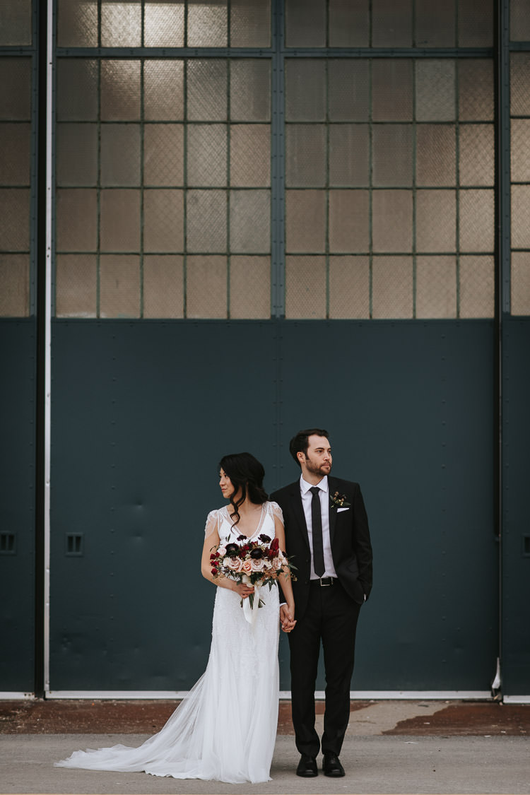 Toronto The Warehouse Wedding Photo Taken at Downsview Park