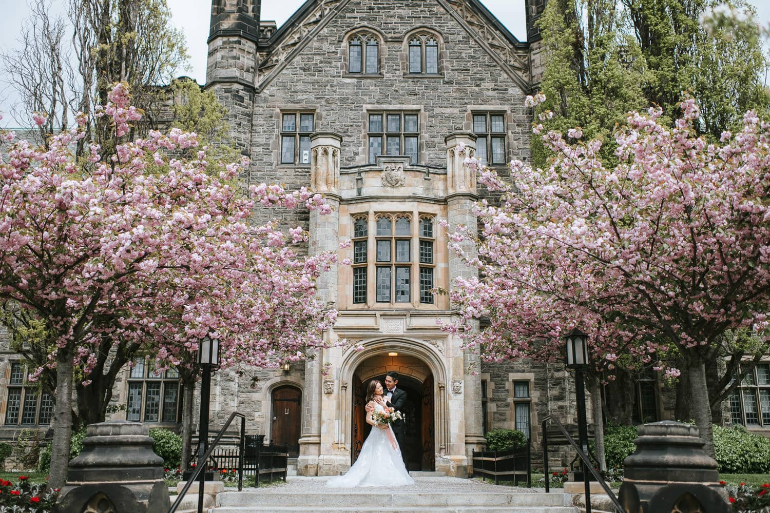 Trinity College Toronto Spring Engagement Session