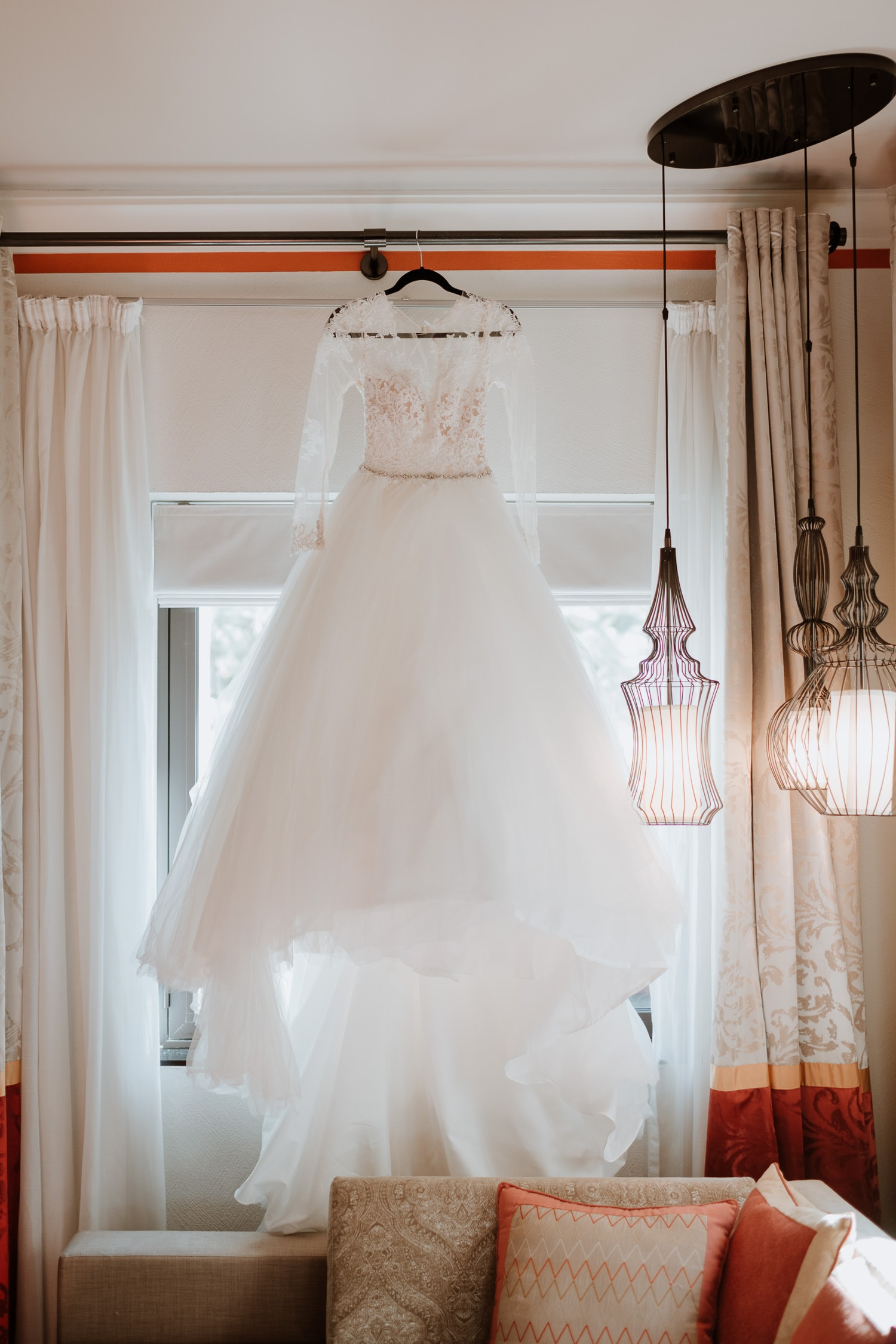 Dubai Destination Whimsical Wedding Dress