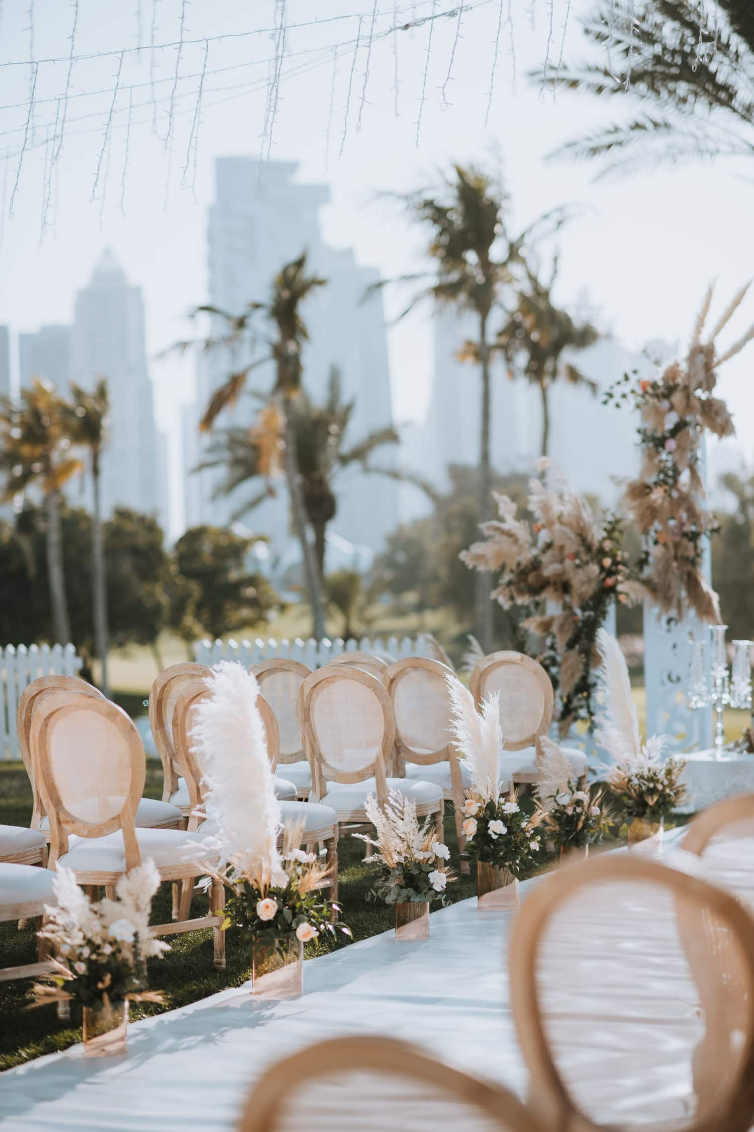 Whimsical Outdoor Wedding Ceremony Decor Ideas
