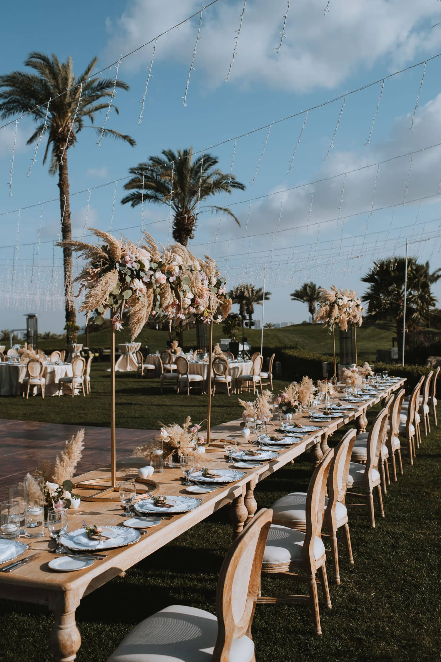 Whimsical Outdoor Wedding Reception Decor Inspiration