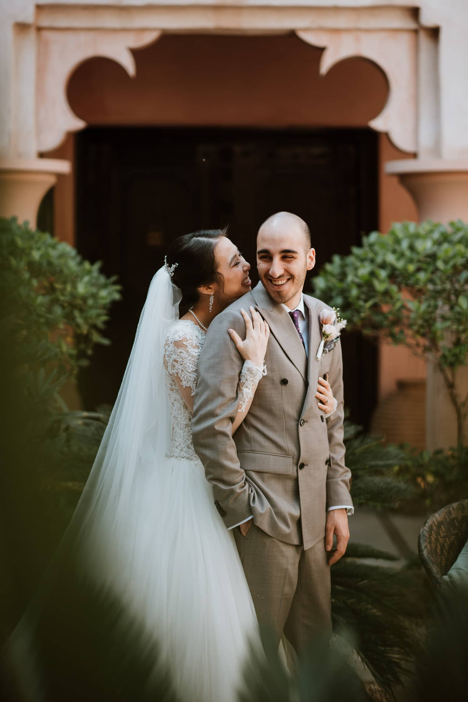 Whimsical Wedding Courtyard Jumeirah Al Qasr Dubai